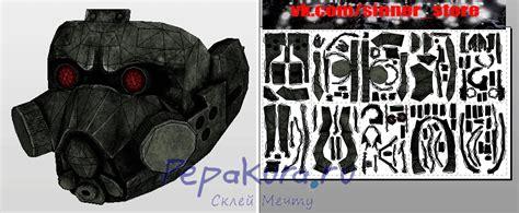 Gas Mask Papercraft - gas paper 2015 crafts