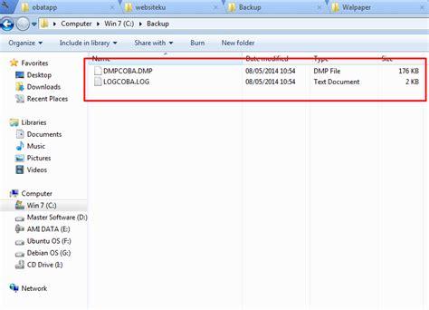 membuat database oracle dengan sqlplus cara import dan export user di database oracle all software