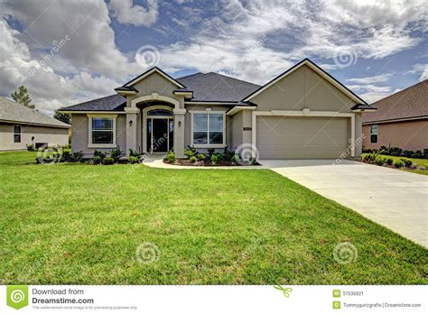 single family home stock image image 37535921