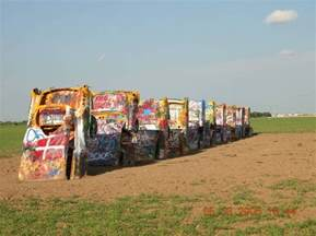Cadillacs In Amarillo Cadillac Ranch Founder Has To Ranch In The Sky Gm