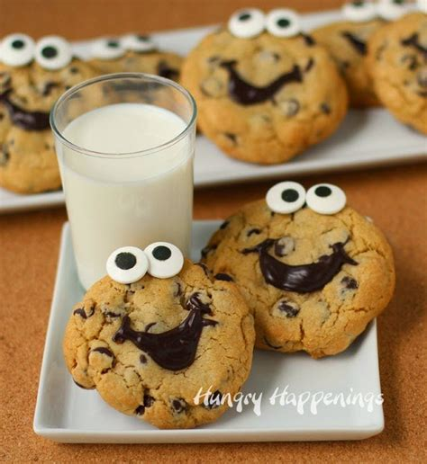 Decorate Chocolate Chip Cookies by Smiley Chocolate Chip Cookies Desserts
