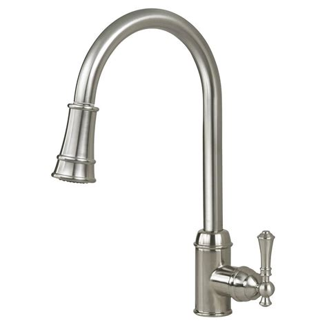 premium kitchen faucets artisan premium single handle pull out sprayer kitchen