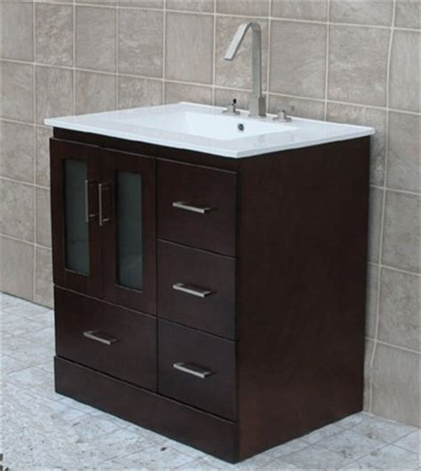 Bathroom Vanities Prices Low Prices 30 Bathroom Vanity Solid Wood Cabinet Ceramic Top Sink Faucet Mo1 Low Prices Tools