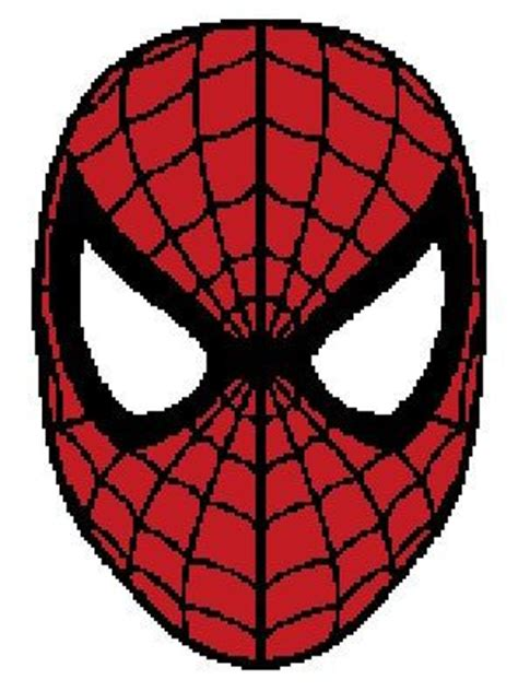 spiderman graphghan pattern spidermand crochet graph on etsy 5 00 crochet