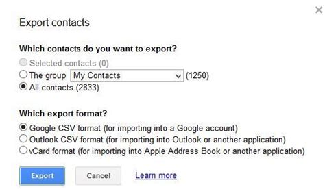 format csv import contact gmail how to download gmail contacts in outlook csv format