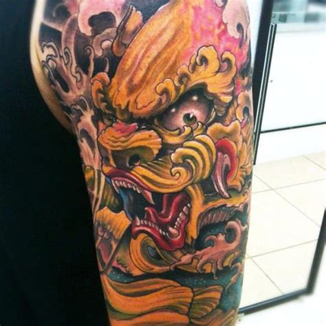 tattoo dragon colour japanese dragon color tattoo piece by isaacectattoo on