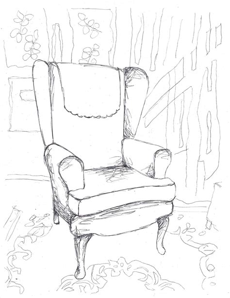 Sketch Sofa Chair Black by Sofa Chair Drawing At Getdrawings Free For Personal