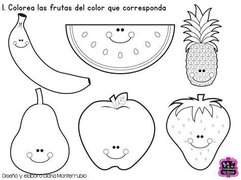 imagenes para colorear en preescolar fichas examen dificultad baja infantil y preescolar 2