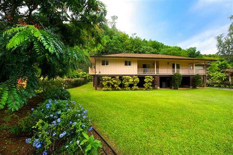 kauai houses for rent kauai vacation homes at anini beach kilauea
