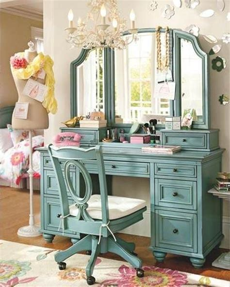 Vanity In Bedroom Furniture Great Image Of Bedroom Decoration Using Wheel Light Blue Wood Bedroom Vanity Chair