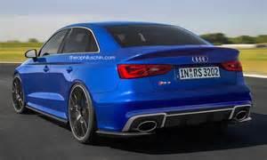 Audi Rs3 Sedan Audi Rs3 Sedan 2016 Proposition En Images