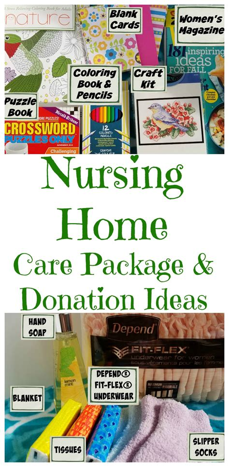 creating a nursing home care package