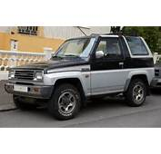 1990 Daihatsu Feroza Car Photo And Specs Pictures