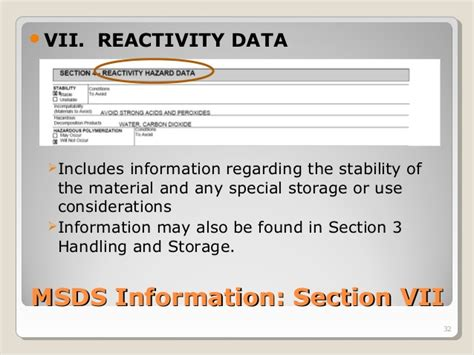 msds section 3 understanding material safety data sheets training by