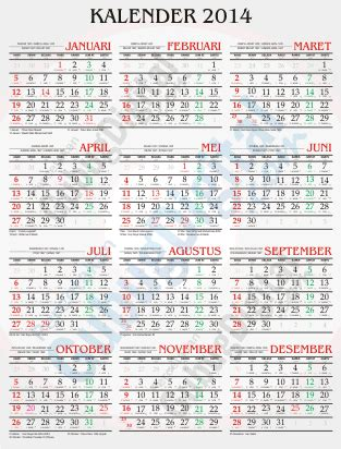 desain kalender lengkap desain kalender 2014 desain kalender 2014 nasional