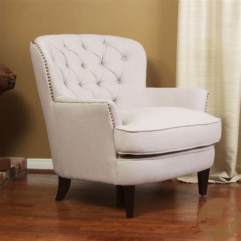 Christopher Chairs by Christopher Home Tafton Tufted Fabric Club