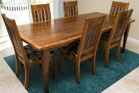 Koa Dining Table 1000 Images About Mission Furniture On End Table Sets Craftsman And Trestle Table