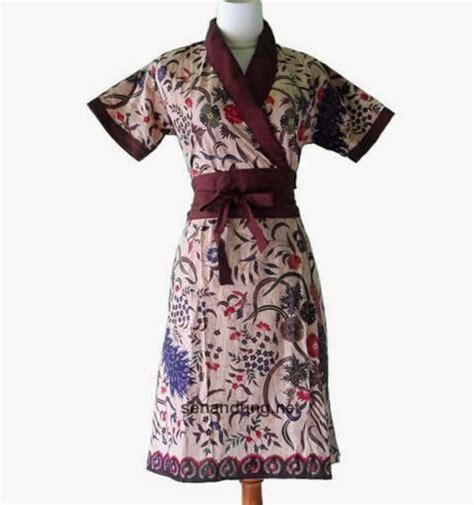 Baju Batik Terkini 8 koleksi model dress baju batik terkini batik indonesia