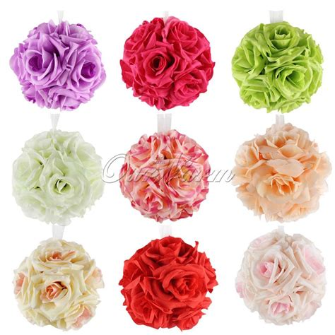 decorative flowers silk flower rose picture more detailed picture about