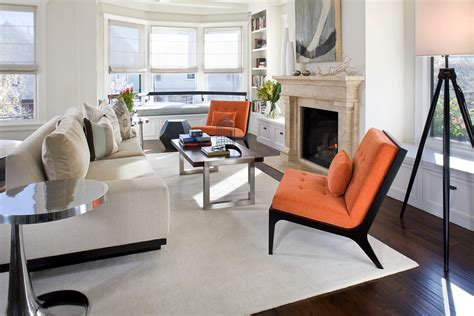 Living Room Occasional Chairs Design Ideas Burnt Orange Accent Chair Decorating Ideas Gallery In Living Room Contemporary Design
