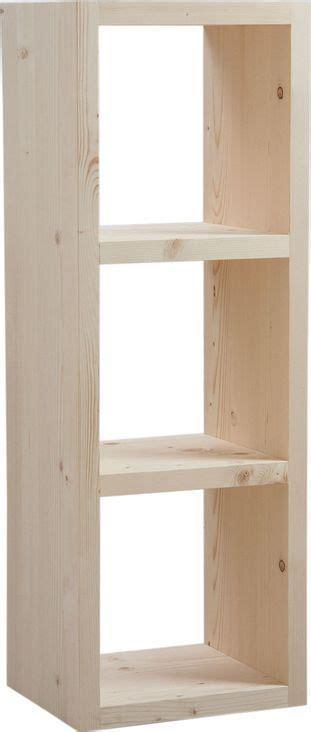 Cubes Bois Rangement by Cubes De Rangement En Bois Brut