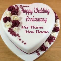 wedding wishes name write name on wedding anniversary cake wishes cakes