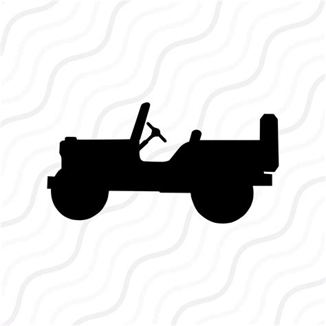 jeep silhouette jeep svg jeep silhouette svg cut table design svg dxf png