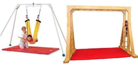 therapy swing frame swing frames vestibular therapy especial needs