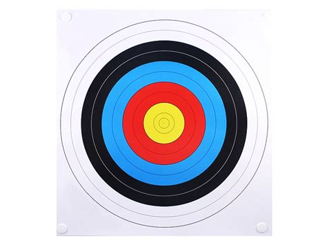 printable bow shooting targets archery 40 cm printable targets clipart best