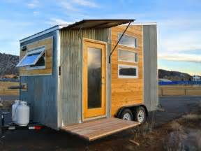 tiny home on trailer the durango tiny house on wheels is a minimalist traveler