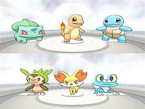 Kaos Bulbasaur how to get all kanto and kalos starters 6 steps with