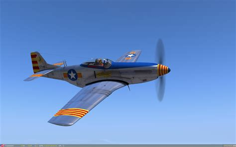 p 51d mustang for 231 a a 232 ria catalana wwii fictional
