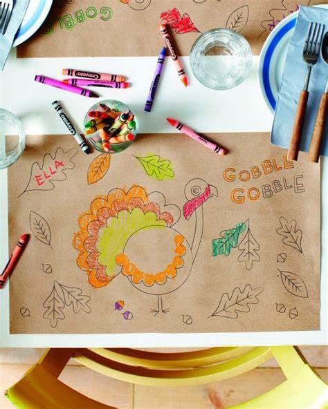 martha stewart thanksgiving crafts for thanksgiving place mat martha stewart