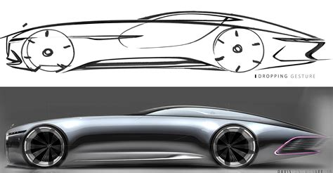 maybach mercedes concept vision mercedes maybach 6 concept design sketch and render