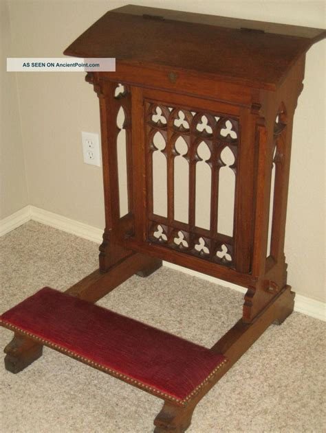 prayer bench for home 38 best images about ecclesiastical furniture on pinterest