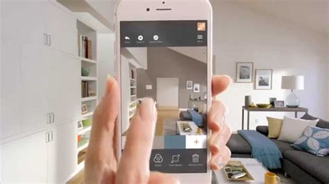 home depot home paint app the home depot app now includes augmented reality