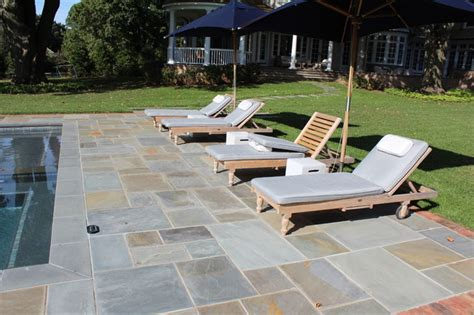 Pool Patio And Hearth New Blue Pool Patio Modern Patio New York By