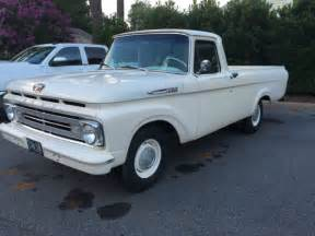 62 Ford F100 1962 Ford F100 Unibody Longbed For Sale Photos Technical