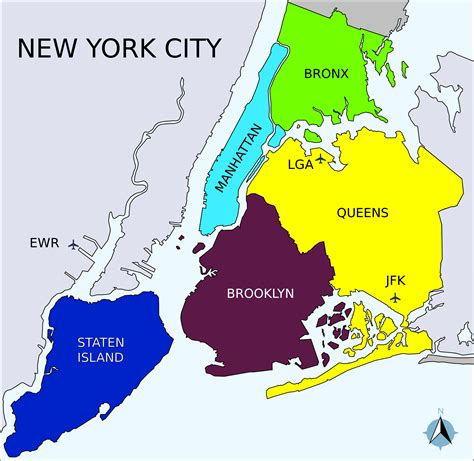 district map of nyc new york burrow map afputra