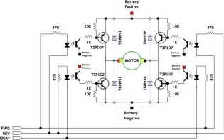 mostek h tranzystory diody 1n4936 sterowanie pwm