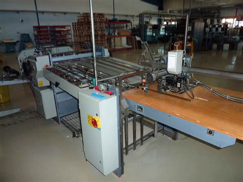 Stahl Paper Folding Machine - folders used finishing machines stahl kc78 4ktl paper