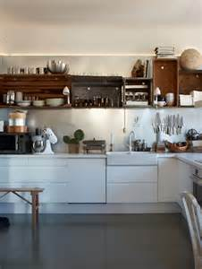 apple crates as kitchen shelves nice decorator s notebook