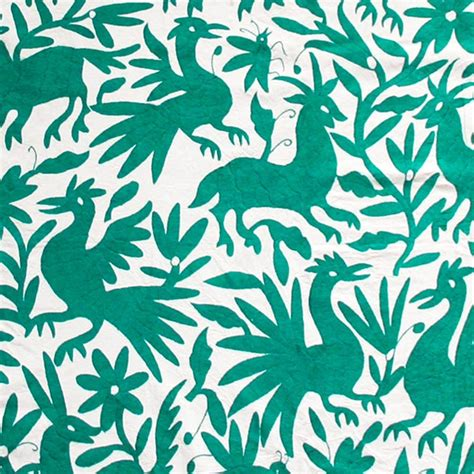 Otomi Coverlets Mint L Aviva Home