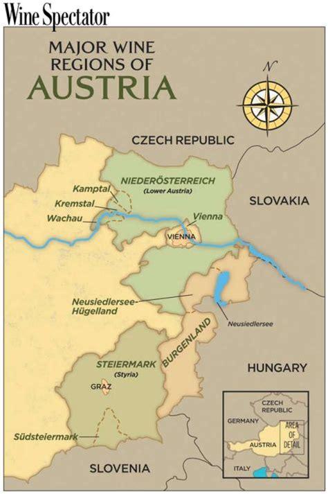austria regions map 17 best images about austria wine regions on