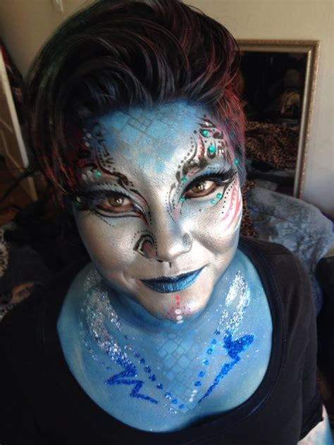 zombie cosplay costume glitter face design tattoo makeup halloween make up and special effects make up artists