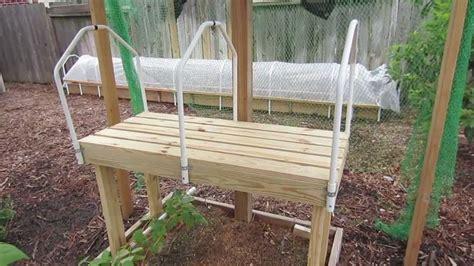 diy seedling grow table plans design greenhouse plans