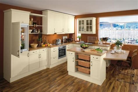 beautiful kitchens with white cabinets country kitchen designs from bauformat germany kitchen
