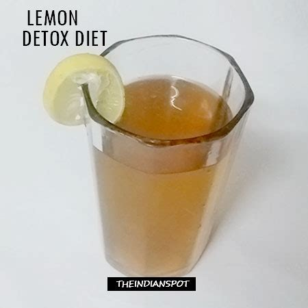 Master Cleanse Lemon Tea Detox Reviews by The Lemon Detox Diet