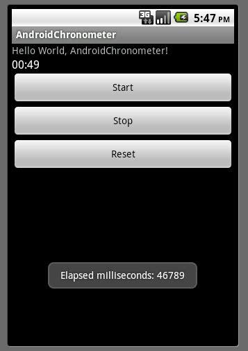 android er android onclick define callback method when android er chronometer onchronometerticklistener