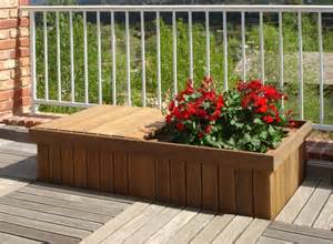 Deck Planters by Where To Buy Ipe Planters Ipe Storage Boxes And Ipe Deck Seats Edeck Inc